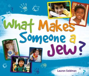 Book cover of What Makes Someone a Jew